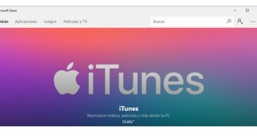Descarga ya iTunes desde la Microsoft Store de Windows 10