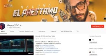 YouTube unifica los vídeos de cada cantante en un único canal