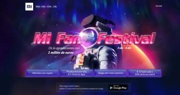 Mi Fan Festival: 1 millón de euros en premios y descuentos en Xiaomi