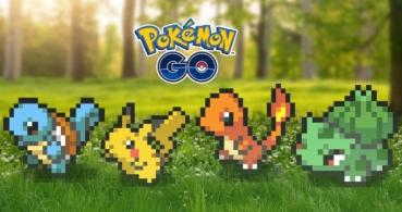 Pokémon Go estrena gráficos pixelados al estilo 8 bits