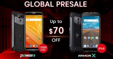 Ulefone Power 5 y Armor X ya disponibles en preventa