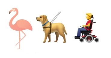 Conoce los emojis de 2019: flamencos rosa, gofres, sillas de ruedas y más