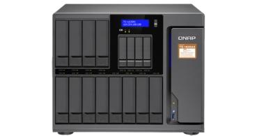 QNAP TS-1635AX, un potente NAS con espacio para 16 discos duros