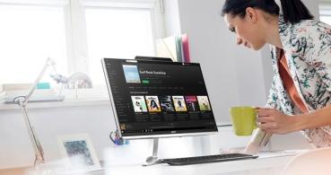 Acer Aspire Z24, el todo en uno con Alexa, Cortana y pantalla FullHD