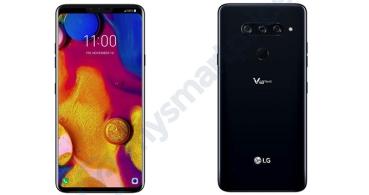 LG V40 se filtra: triple cámara trasera y pantalla con notch