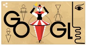 Google dedica un Doodle al artista Oskar Schlemmer