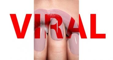 ¿De qué color son los labios y las uñas? La nueva imagen viral de WhatsApp