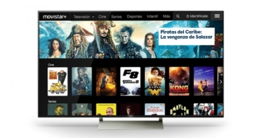 Movistar+ renueva su interfaz para smart TV