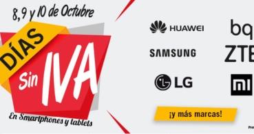 Phone House lanza el Día sin IVA hasta el 10 de octubre