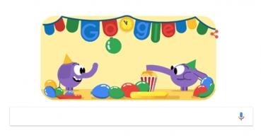 Google lanza un Doodle por la Nochevieja
