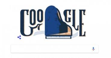 Google dedica un Doodle a la pianista Teresa Carreño