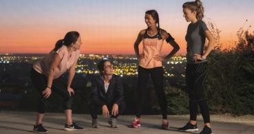 Sincronizadas, una web para que las mujeres creen grupos de corredoras