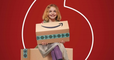 Vodafone regala 1 año de Amazon Prime como promoción de Navidad