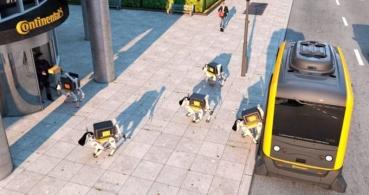 Perros robot te entregarán los pedidos online en casa