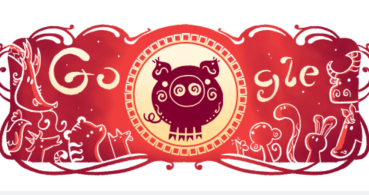 Google celebra con un Doodle el Año Nuevo chino