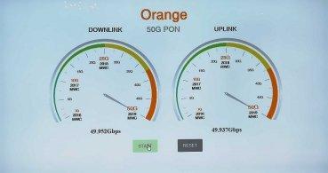 Orange alcanza los 50 Gbps simétricos en su fibra óptica