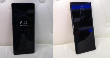 Sony Xperia 1, el smartphone con triple cámara trasera y conectividad 5G