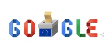 Google celebra con un Doodle las elecciones europeas 2019