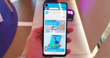 Motorola One Vision llega a España: cámara selfie en pantalla y Android One