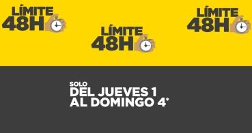Vuelve Límite 48 horas: ofertas en informática y electrónica durante 4 días
