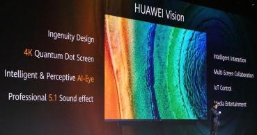 Huawei Vision, la televisión 4K con sonido 5.1 y asistente inteligente