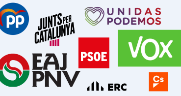 Cómo seguir online el debate electoral del 2-N con los ocho partidos