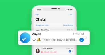 WhatsApp te podrá enviar recordatorios de tus tareas