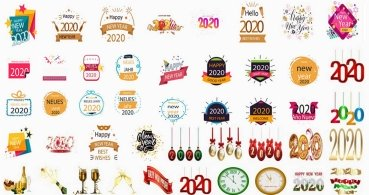 10 packs de stickers de Año Nuevo para WhatsApp