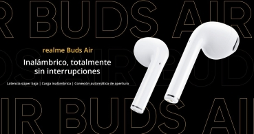 Realme Buds Air, los auriculares True Wireless con control por gestos