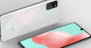 Así podría ser el diseño del Galaxy A41: triple cámara y pantalla Infinity-U