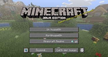 Minecraft incluye el andaluz como idioma