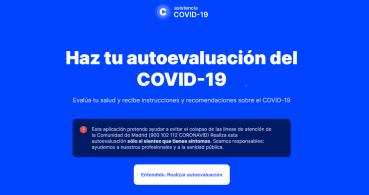 Madrid lanza una web de autoevaluación del coronavirus