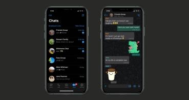 WhatsApp presenta el modo oscuro en Android y iPhone oficialmente