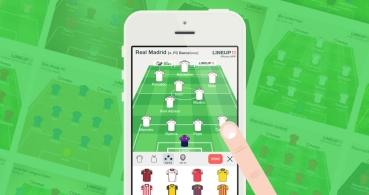 Lineup11, crea tu propia alineación de fútbol en móviles