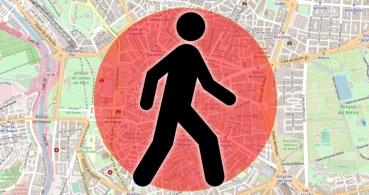 Esta web te dice cuál el paseo más largo en 1 km alrededor de tu casa