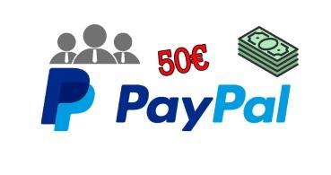 Así puedes ganar 50 euros en PayPal