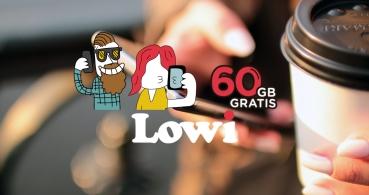 Lowi regala 60 GB gratis con su promoción de verano