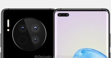 Huawei Mate 40 y Mate 40 Pro traerían un enorme módulo circular para la cámara principal