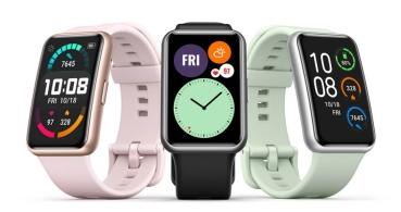 Huawei Watch Fit es oficial: entrenamiento guiado, diseño original y 10 días de autonomía