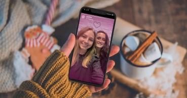 Cómo activar el filtro de corazones de Meetic en Instagram Stories
