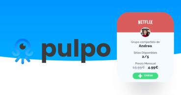 Pulpo: comparte cuenta y gastos en Spotify, Netflix, Disney+, Movistar+ y más
