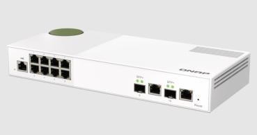QNAP QSW-M2108-2C: el nuevo switch gestionable por web de Capa 2 de 2,5 GbE y 10 GbE
