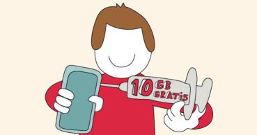 Lowi regala un bono de 10 GB gratis