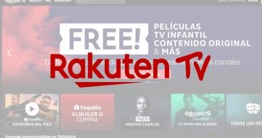 Rakuten TV: qué es, cómo funciona y canales gratuitos