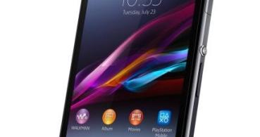 Sony Xperia Z1, el nuevo smartphone de alta gama