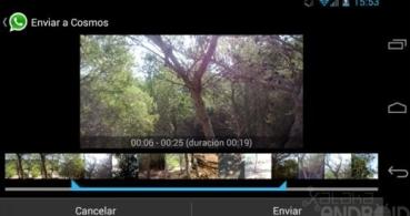 WhatsApp ya permite enviar vídeos de cualquier tamaño
