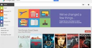 Nueva versión web de Google Play