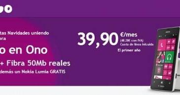 ONO lanza nuevas tarifas convergentes y regala smartphones