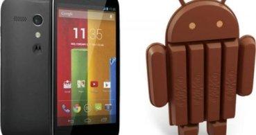 Motorola Moto G se actualiza a Android 4.4.2 en España