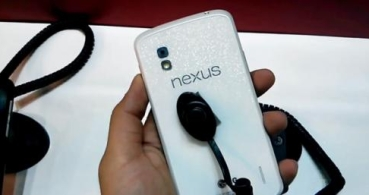 Nuevas imágenes y video del Nexus 4 Blanco